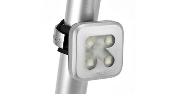 Knog Blinder fietsverlichting 4 rode led, arrow grijs